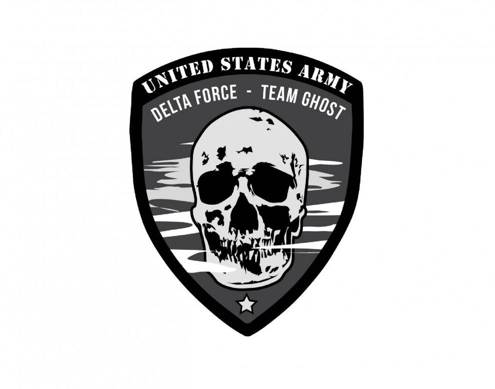 Team Ghost's military uniform patch.