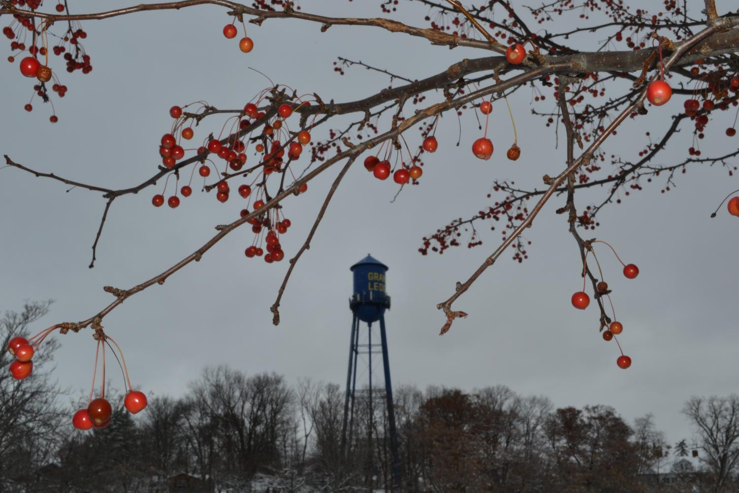 The GL water tower stands in the perfect place for beautiful photos year round. The water tower was one of two in the city.