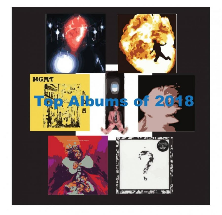 The Dawg Pound reviews the top albums of 2018.