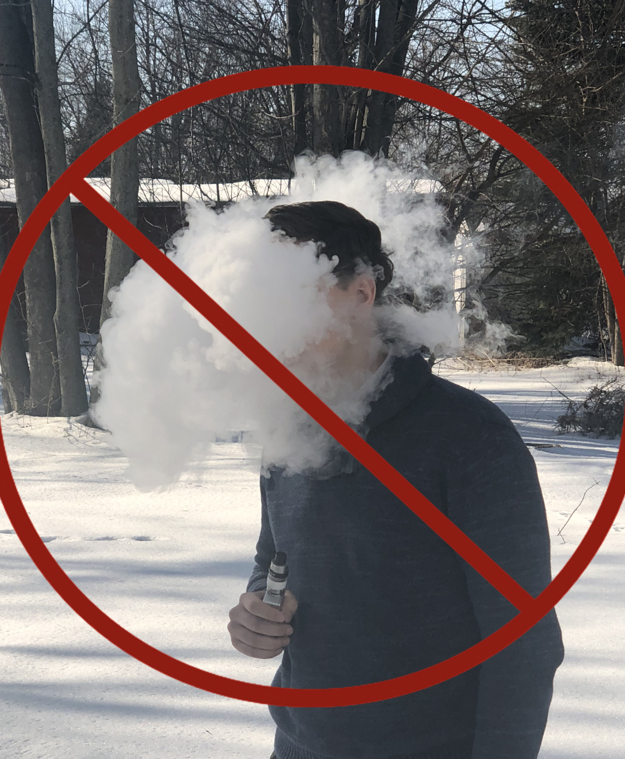 While it is legal for 18+ to smoke, GLHS strongly advises against it. There are absolutely no smoking devices allowed on school grounds.