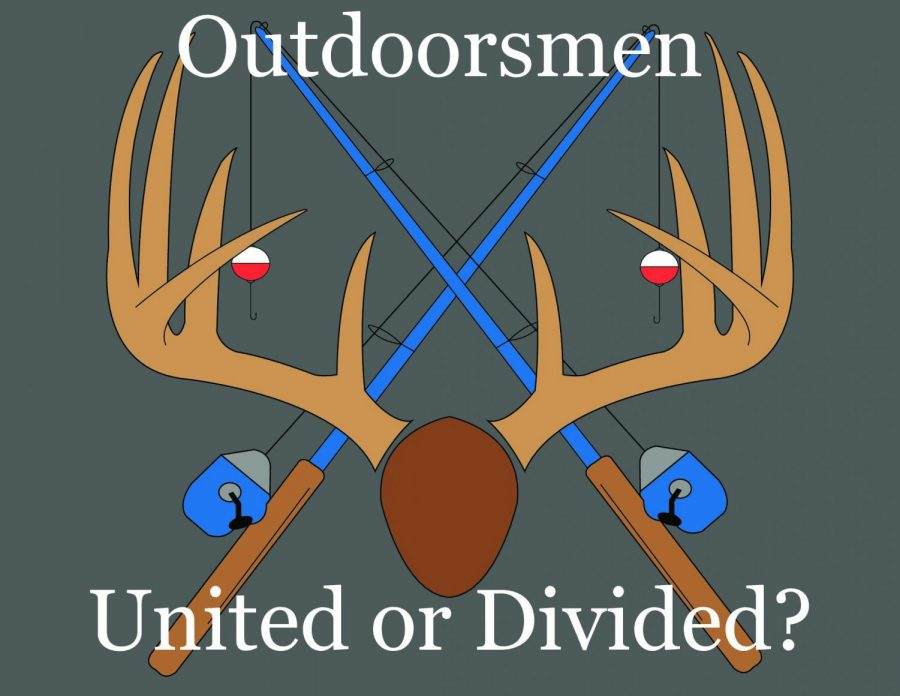 Outdoorsmen+and+women+are+becoming+more+and+more+divided%2C+because+of+back+and+forth+disagreements+on+social+media.+