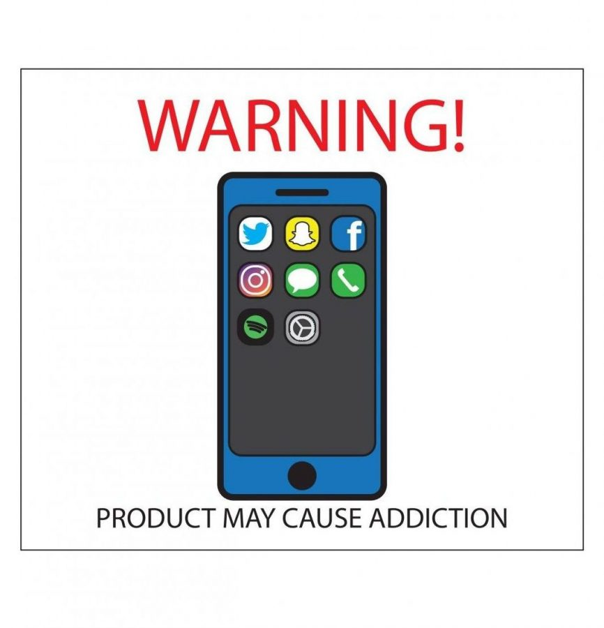 Social+Media+is+becoming+highly+addictive%2C+especially+to+teenagers.+Social+Media+also+causes+the+phone+to+be+used+at+inappropriate+times.