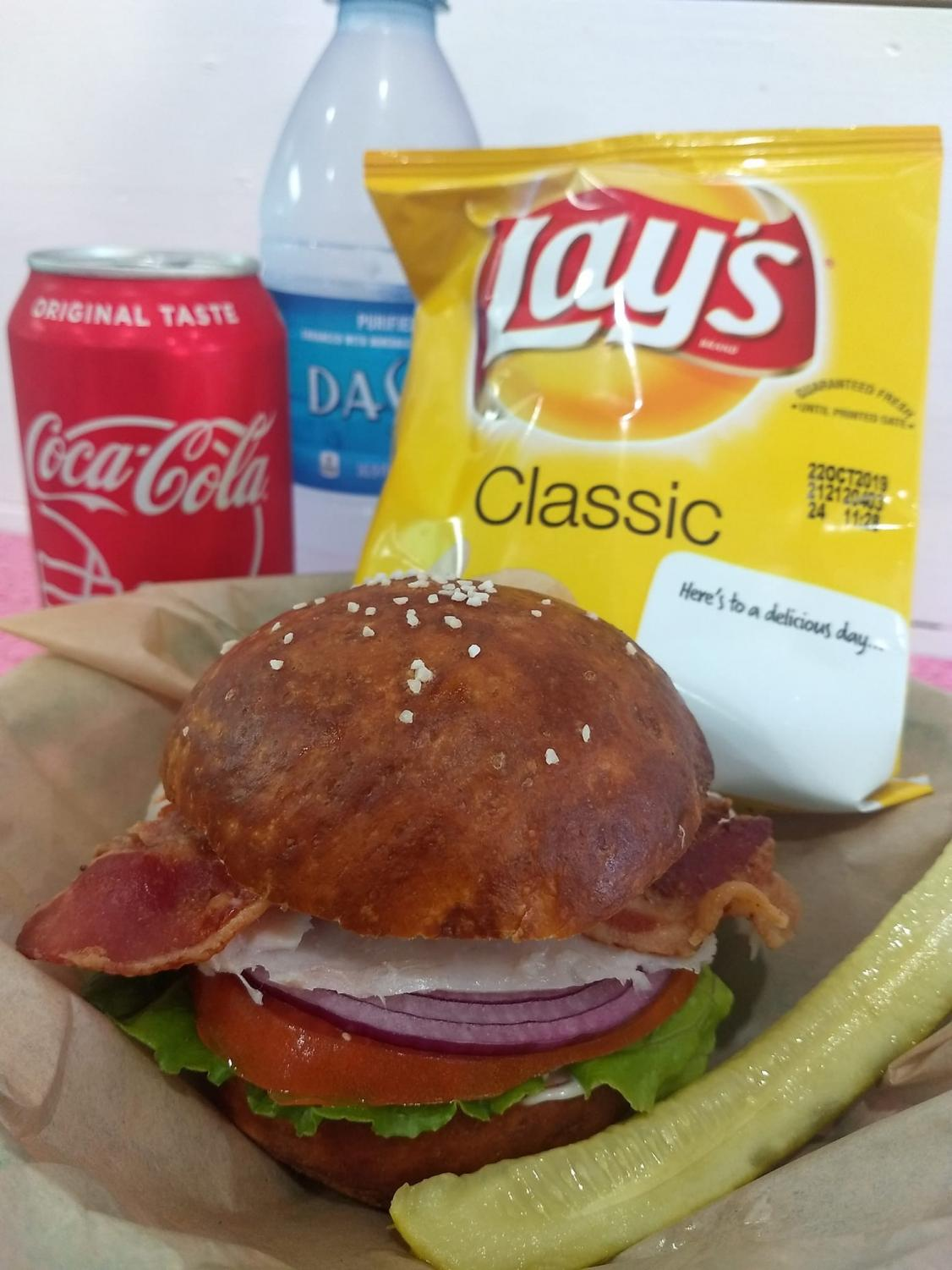 Flour Child Bakery, in downtown Grand Ledge, introduces a new lunch menu starting this fall. Augustine, the owner, bakes 11 flavors of bagels fresh every day, in addition to the new lunch selection of sandwiches made with fresh-baked breads and buns.