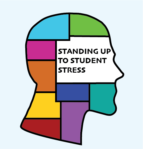 Many students find their minds cluttered and overworked by school. Finding ways to cope can help students de-stress.