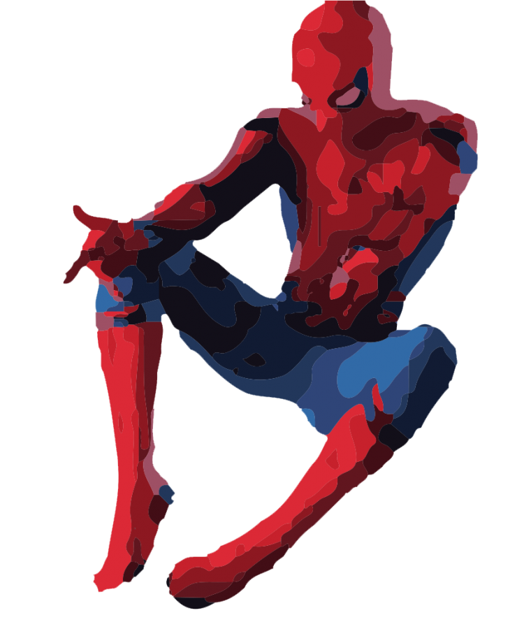 Spider-Man does his signature pose with the the hands pointed out. Marvel and Sony could not agree on terms to keep the character in the MCU, having Sony keep the character's rights until further notice.