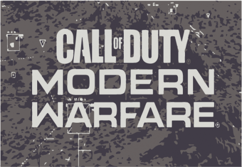 Screenshot of the title screen for Call of Duty Modern: Warfare