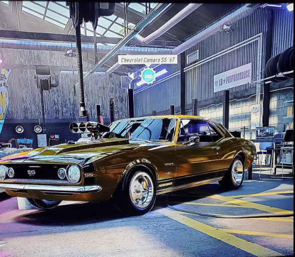 This is a picture of a 1967 Chevy Camaro