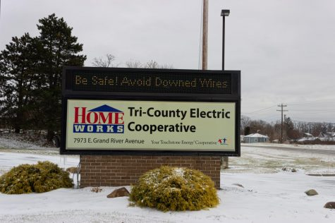 Homeworks Tri-County Electric works to provide electricity even through inclement weather.