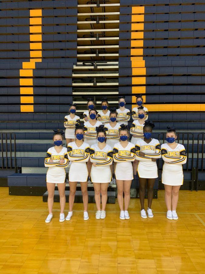 GLHS varsity competitive cheer team!